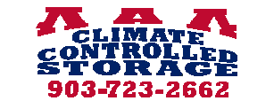 AAA Climate Controlled Storage Palestine TX New Logo