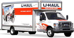 AAA Mini Storage Climate Controlled Palestine TX UHaul 20ft Moving Truck